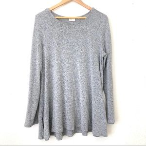 Sweaters - Anthropologie Postcards Oversized Grey Sweater